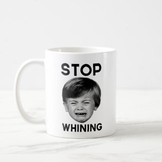 Stop Whining Classic White Coffee Mug