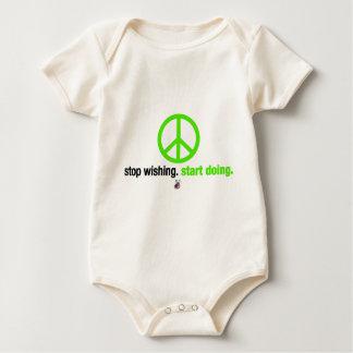 Stop wishing. Start doing. Baby Bodysuit