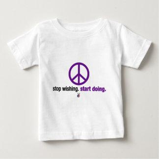Stop wishing. Start doing. Baby T-Shirt