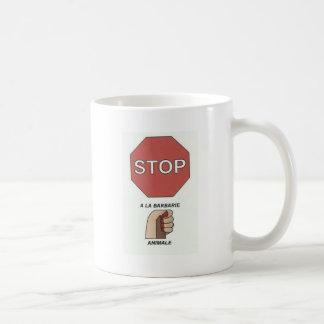 STOP WITH ANIMALE.jpg CRUELTY Coffee Mug