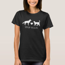 """STOP YULIN"" Animal awareness T Shirt"
