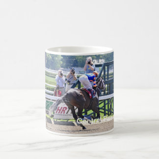 Stopchargingmaria victorious in her first race. classic white coffee mug
