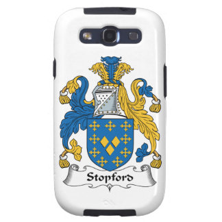 Stopford Family Crest Samsung Galaxy SIII Cases