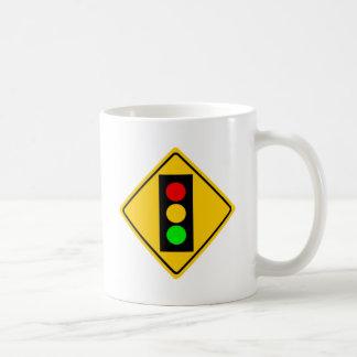 Stoplight Ahead Coffee Mug