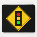 Stoplight Ahead Mouse Pad