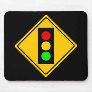 Stoplight Ahead Mouse Pad