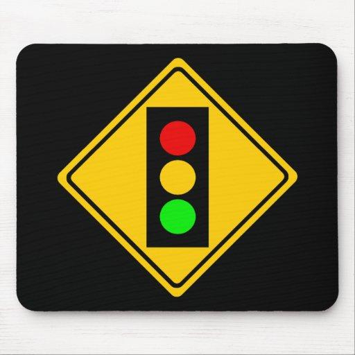 Stoplight Ahead Mousepad