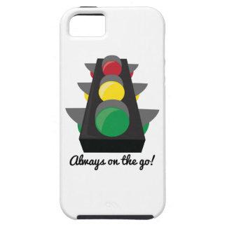 Stoplight_AlwaysOnTheGo iPhone 5 Case-Mate Cobertura