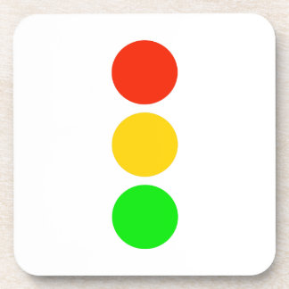 Stoplight Colors Beverage Coaster