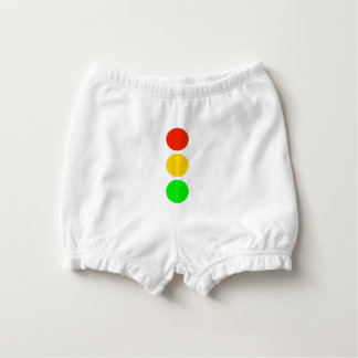 Stoplight Colors Diaper Cover