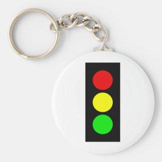 Stoplight Keychain