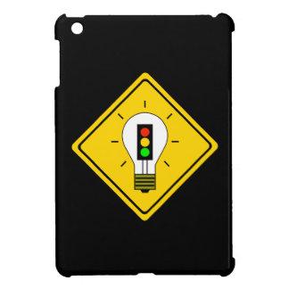Stoplight Lightbulb Ahead iPad Mini Cover