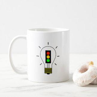 Stoplight Lightbulb Coffee Mug