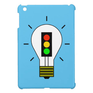 Stoplight Lightbulb iPad Mini Covers