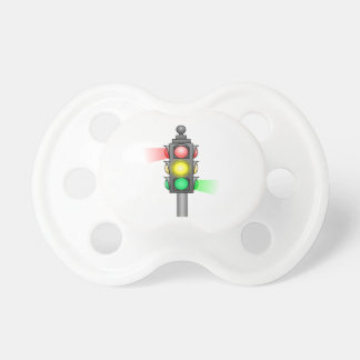 Stoplight Baby Pacifiers