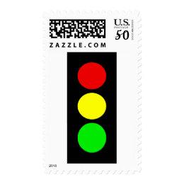 Stoplight Postage