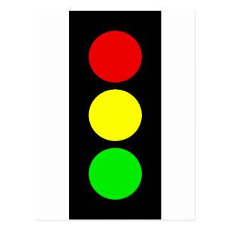 Stoplight Postcard