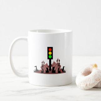 Stoplight with Bunnies Coffee Mug