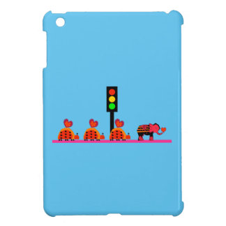 Stoplight with Heart Caravan Cover For The iPad Mini
