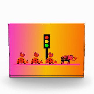 Stoplight with Heart Caravan, Dreamy Background Award