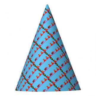 Stoplight with Heart Caravan Party Hat