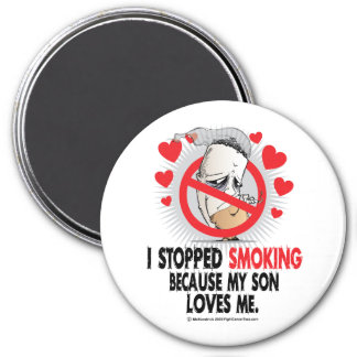 Stopped Smoking Son Magnet