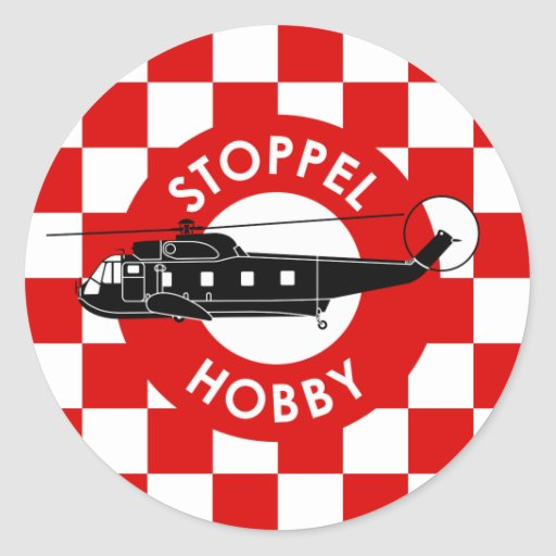 Stoppel Hobby Classic Round Sticker