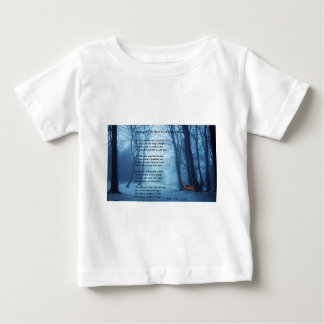 Stopping By The Woods by: Robert Frost Baby T-Shirt