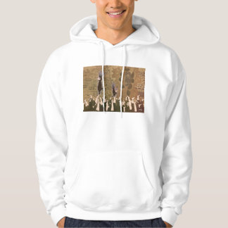 Stopping the footsteps 2012 hoodie