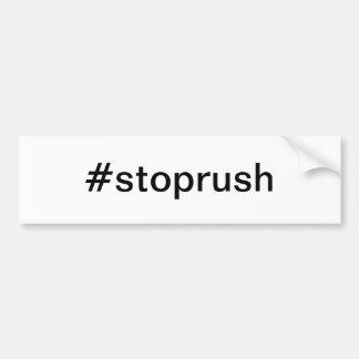 #stoprush Stop Rush Limbaugh Bumper Sticker Car Bumper Sticker