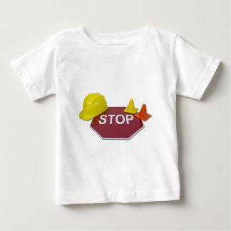 StopSignHardHatSafetyCones091711 Playera