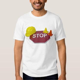 StopSignHardHatSafetyCones091711 Polera