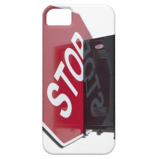 StopSignLocker122312 copy.png iPhone 5 Case-Mate Cobertura