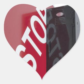 StopSignLocker122312 copy.png Pegatina En Forma De Corazón