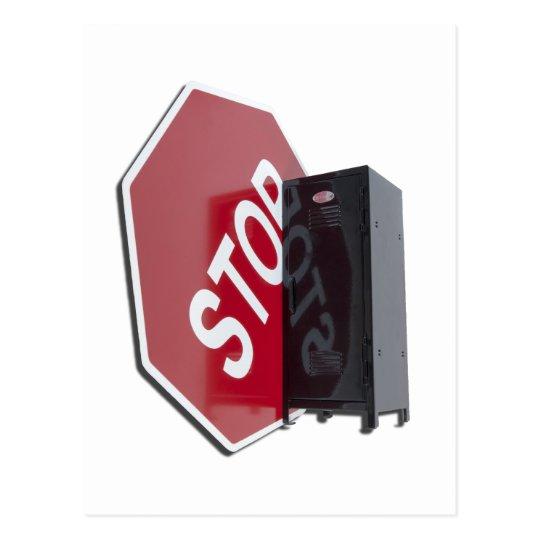 StopSignLocker122312 copy.png Postcard