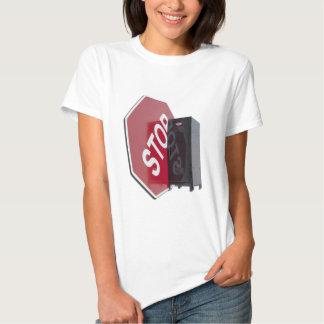 StopSignLocker122312 copy.png T-Shirt
