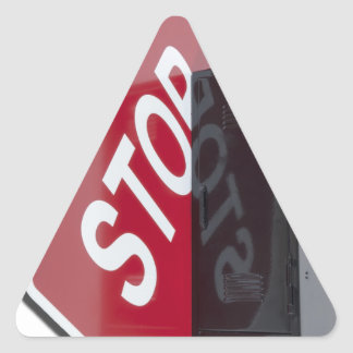 StopSignLocker122312 copy.png Triangle Sticker