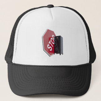 StopSignLocker122312 copy.png Trucker Hat