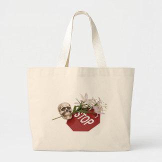 StopSignSafety051409 Jumbo Tote Bag