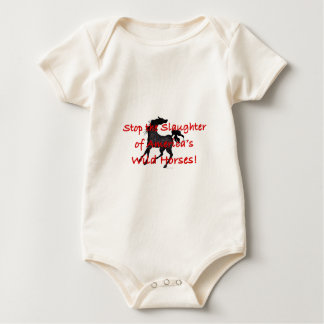 StopTheSlaughter Baby Bodysuit
