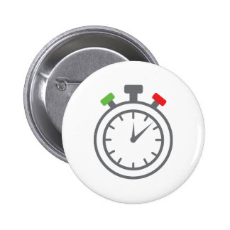 stopwatch - alarm timer pinback button