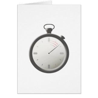 Stopwatch Card