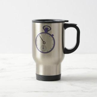 Stopwatch 15 Oz Stainless Steel Travel Mug