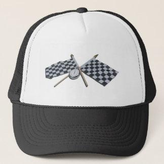 StopwatchCheckeredFlags111112 copy.png Trucker Hat