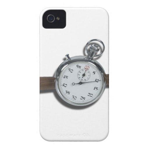 StopwatchGavel111112 copy.png iPhone 4 Case-Mate Cárcasa