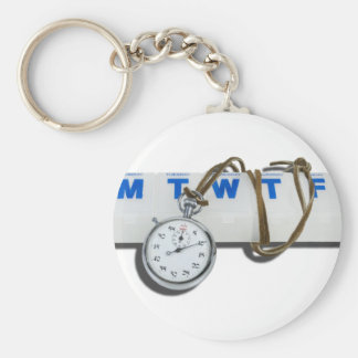 StopWatchPillMinder111112 copy.png Basic Round Button Keychain