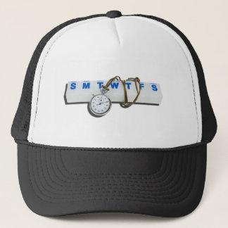 StopWatchPillMinder111112 copy.png Trucker Hat