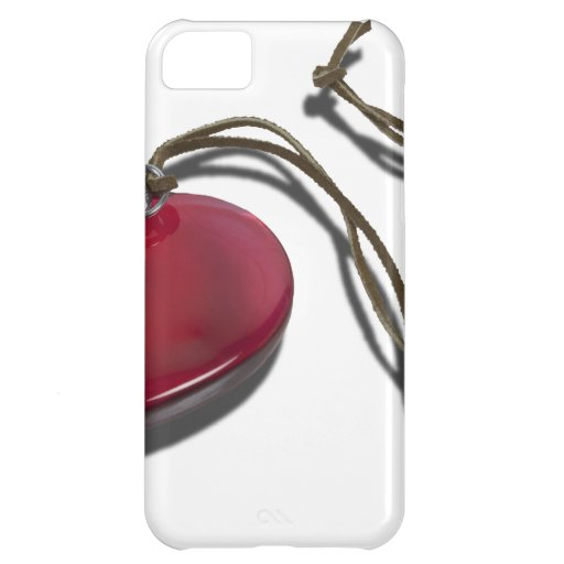 StopwatchRedHeartCord111112 copy.png iPhone 5C Case