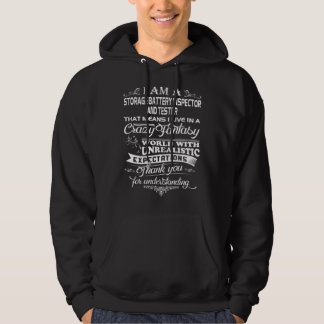 STORAGE BATTERY INSPECTOR AND TESTER HOODIE
