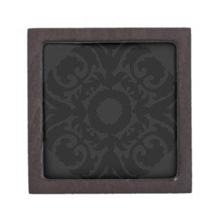 Storage Box - Black Crest Premium Trinket Box